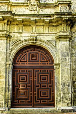 Church of San Pedro Claver, Old City, Cartagena, Colombia by Jerry Ginsberg