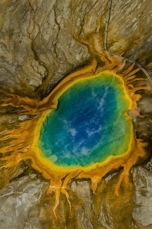 Grand Prismatic Spring, Yellowstone NP, Wyoming, USA