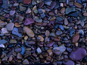 Gravel in Mountain Creek, Montana, USA by Jerry Ginsberg