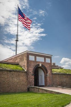 Historic Fort Mchenry, Birthplace of the Star Spangled Banner by Jerry Ginsberg