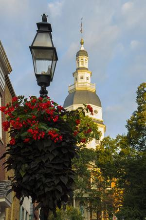 Historic Maryland State House in Annapolis, Maryland