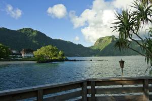 Idyllic bay in Pago Pago, Tutuila, American Samoa. by Jerry Ginsberg