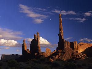 Rock Formations of Monument Valley, Navajo Nation Usa by Jerry Ginsberg