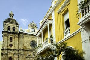 San Pedro Claver Church, Cuidad Vieja, Cartagena, Colombia by Jerry Ginsberg
