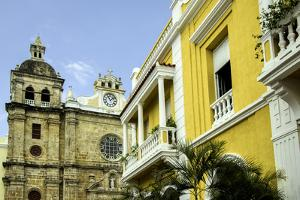 San Pedro Claver Church, Cuidad Vieja, Cartagena, Colombia by Jerry Ginsberg