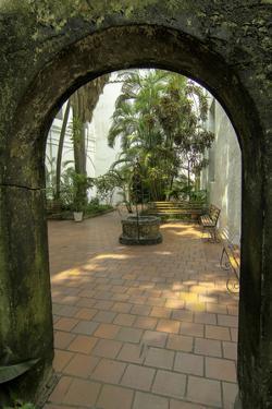 Santuario de San Perdo Claver, El Centro, Cartagena, Colombia by Jerry Ginsberg