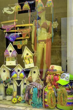 Wares for Sale in the Old City, Ciudad Vieja, Cartagena, Colombia by Jerry Ginsberg