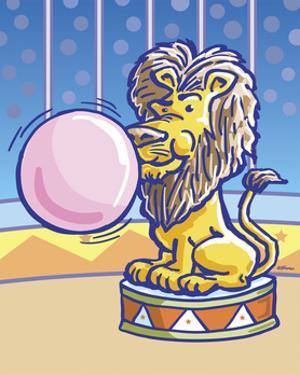 Bubble Gum Lion by Jerry Gonzalez