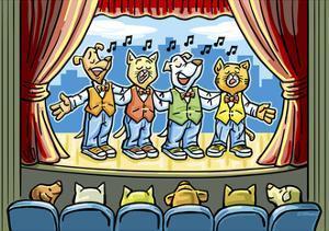 The Dog Cat Quartet by Jerry Gonzalez