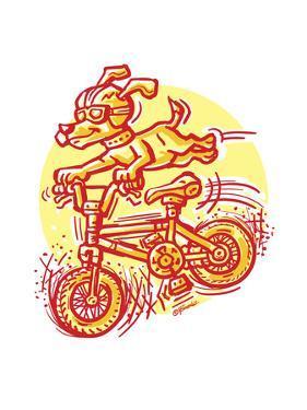 The Mutt Biker by Jerry Gonzalez