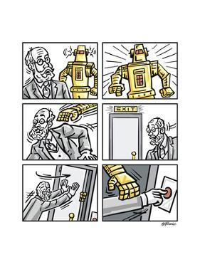 The Robot by Jerry Gonzalez