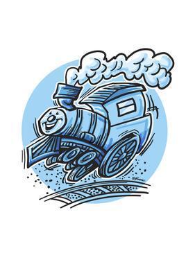 The Train by Jerry Gonzalez