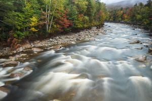 Autumn Along the Pemigewasset River, White Mountain NF, New Hampshire by Jerry & Marcy Monkman