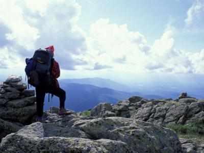 Backpacking on Gulfside Trail, Appalachian Trail, Mt. Clay, New Hampshire, USA by Jerry & Marcy Monkman