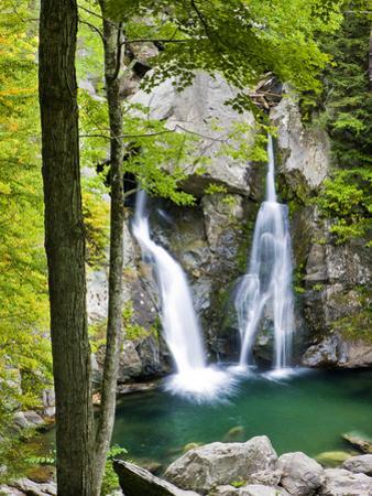 Bish Bash Falls in Bish Bash Falls State Park in Mount Washington, Massachusetts, Usa by Jerry & Marcy Monkman