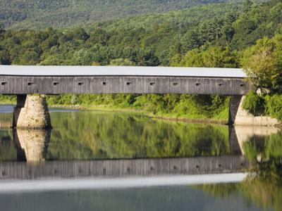 Connecticut River Between Windsor, Vermont and Cornish, New Hampshire, Usa by Jerry & Marcy Monkman