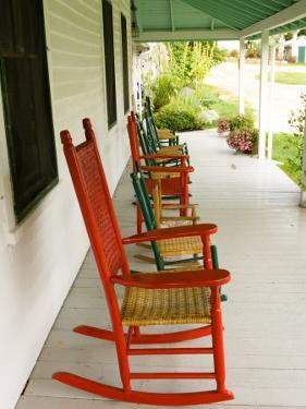 Front Porch, Oakland House Seaside Resort, Brooksville by Jerry & Marcy Monkman
