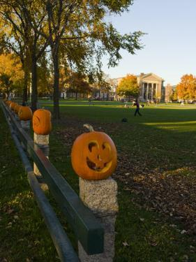 Late afternoon on the Dartmouth College Green, Hanover, New Hampshire, USA by Jerry & Marcy Monkman