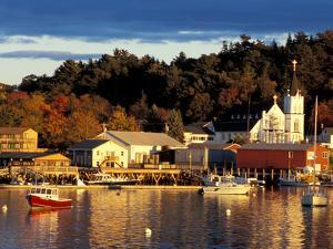 Our Lady Queen of Peace Catholic Church, Boothbay Harbor, Maine, USA by Jerry & Marcy Monkman