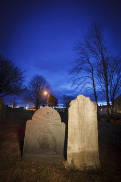 Point of Graves Burying Ground, Portsmouth, New Hampshire by Jerry & Marcy Monkman