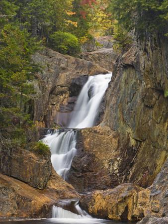 Smalls Falls Near Rangeley, Maine, Usa by Jerry & Marcy Monkman
