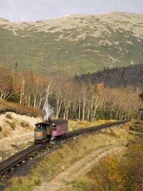 The Cog Railroad on Mt. Washington in Twin Mountain, New Hampshire, USA by Jerry & Marcy Monkman