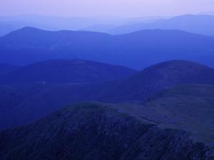 View From Mt. Monroe on Crawford Path, White Mountains, New Hampshire, USA by Jerry & Marcy Monkman