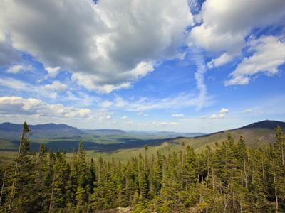 View of Sugarloaf Mountain from the Appalachian Trail on Crocker Mountain in Stratton, Maine, Usa by Jerry & Marcy Monkman