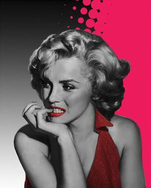 Marilyn Pink by Jerry Michael