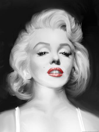 Marilyn's Gaze by Jerry Michaels