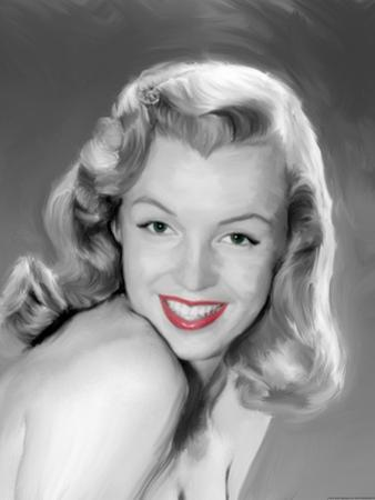 Young Marilyn by Jerry Michaels