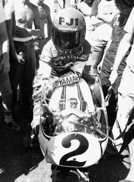 Kenny Roberts, Laguna Seca GP by Jerry Smith