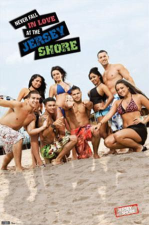 Jersey Shore (Group) TV Poster Print