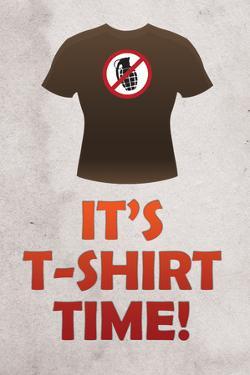Jersey Shore It's T-Shirt Time TV Plastic Sign