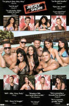 Jersey Shore Quotes TV Poster Print