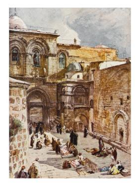 Jerusalem: Church of the Holy Sepulchre