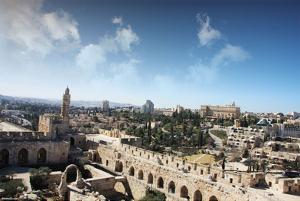 Jerusalem (West Jerusalem Walls) Art Poster Print