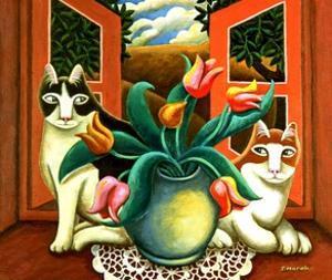 In the Window by Jerzy Marek