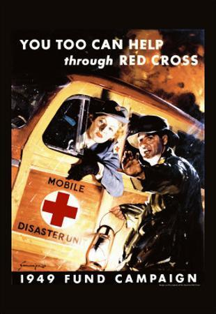 You Too Can Help Through Red Cross