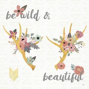 Boho Beauty I Pastel by Jess Aiken