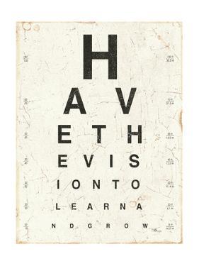 Eye Chart II by Jess Aiken