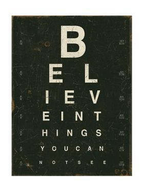 Eye Chart III by Jess Aiken