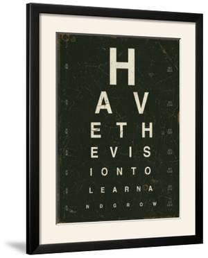 Eye Chart IV by Jess Aiken