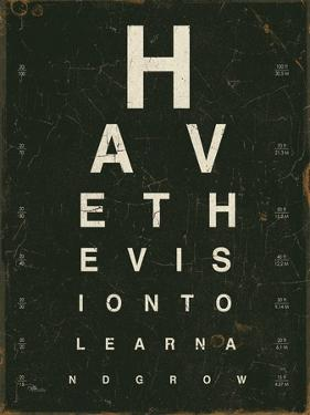 Eye Chart IV by Jess Aiken