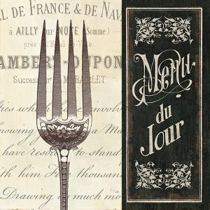 French Menu II by Jess Aiken