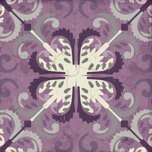Lavender Glow Square III by Jess Aiken