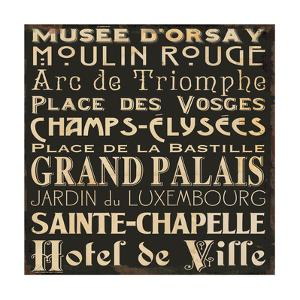 Paris Collage V by Jess Aiken