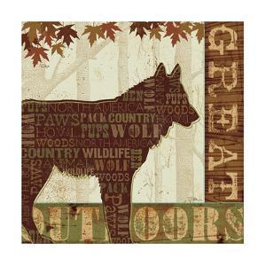 Woodland Words III by Jess Aiken