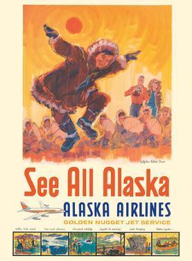 See All Alaska - Alaska Airlines - Kotzebue Eskimo Dance by Jess C.
