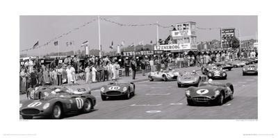 Tourist Trophy (TT), Goodwood, 1959 by Jesse Alexander